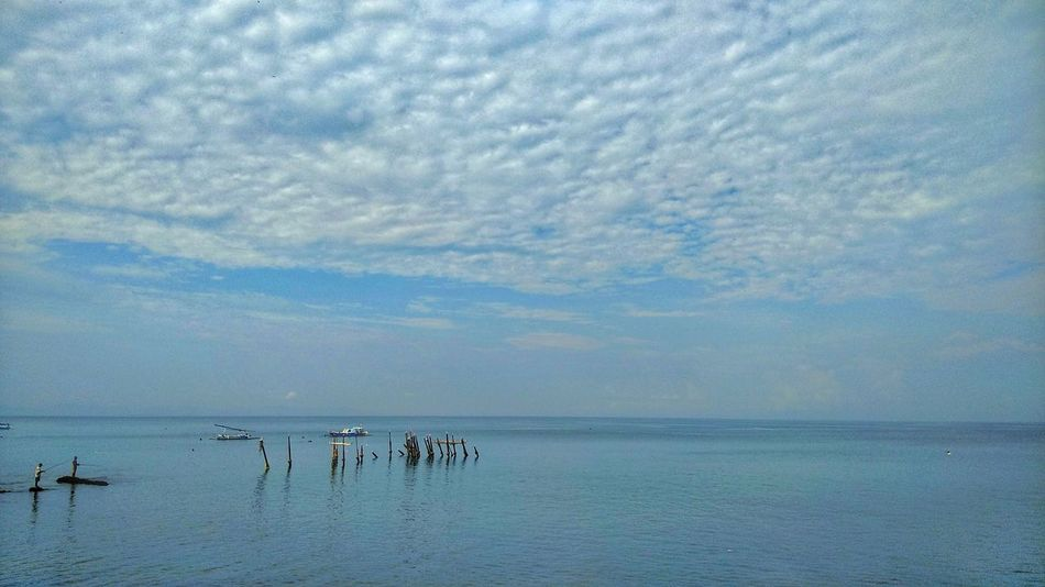 Sky Nature Cloud - Sky Beauty In Nature Outdoors Water Beach Landscape Horizon Over Water Beauty In Nature