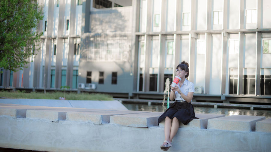 Some photo i took while ago with my Sony A7ii + Rekinon 55mm f1.4 Architecture Building Day Full Length Old Lens Person Portrait SONY A7ii Standing Thailand