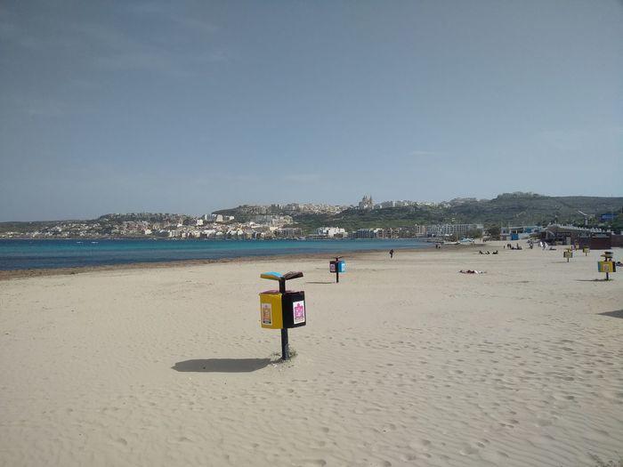 L-Ghadira Malta Mediterranean  Mediterranean Sea Beach Beauty In Nature Day Ghadira Horizon Over Water Nature Sand Scenics Sea Sky Water