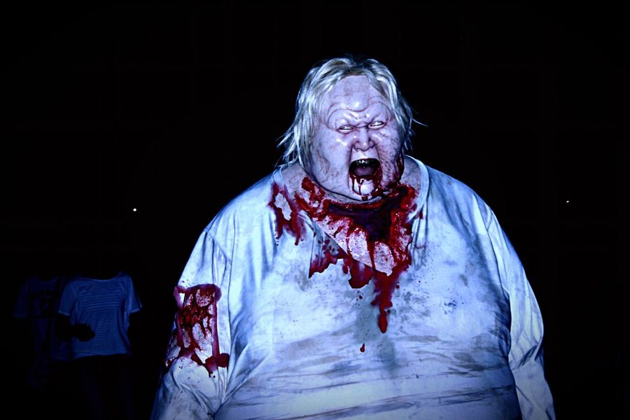 Night Oosaka  USJ Holiday Horror