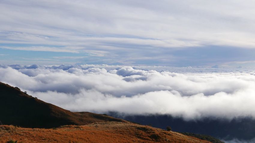 Sea Of ​​clouds Mt. Pulag Philippines
