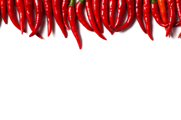 Background Chili  Chilli Cooking Diet Food Fresh Group Of Objects Healthy Hot Ingredient Isolated Kitchen Natural Nature Nutrition Pepper Plant Red Spice Spicy Vegetable White