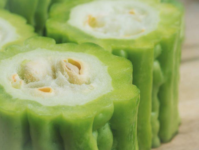 Detail shot of chopped vegetables