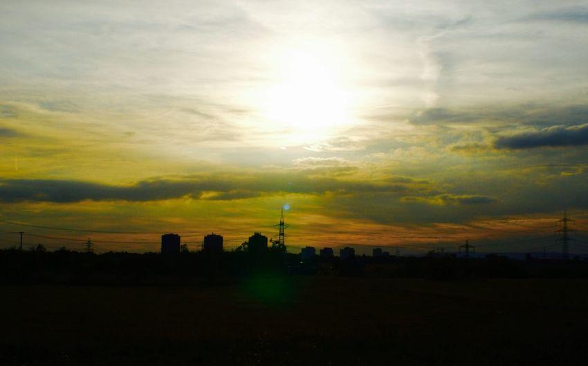 Cloud - Sky Dramatic Sky Horizon Over Land No People Outdoors Sky Sunset