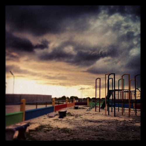 PlaygroundClouds Sunset Thinadhoo