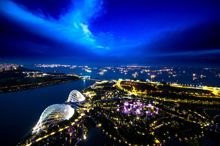 Architecture ASIA Building Exterior Built Structure City City Life Cityscape Cityscape Gardenbythebay Gardenbythebay, Singapore Gardenbythebaysingapore Heaven Illuminated Metropole Metropolitan Nature Night Nightlights No People Outdoors Singapore Sky Skyline Travelling Water