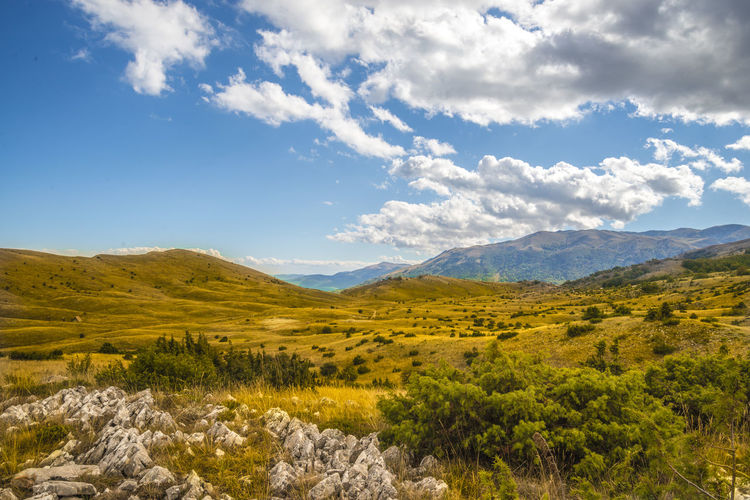 national park galicica in macedonia Beauty In Nature Blue Cloud - Sky Day Galicica GALITCHITSA Landscape Macedonia Mountain Mountains National Park Nature Nature Reserve No People Ohrid Outdoors Prespa Lake Scenics Sky Sunlight