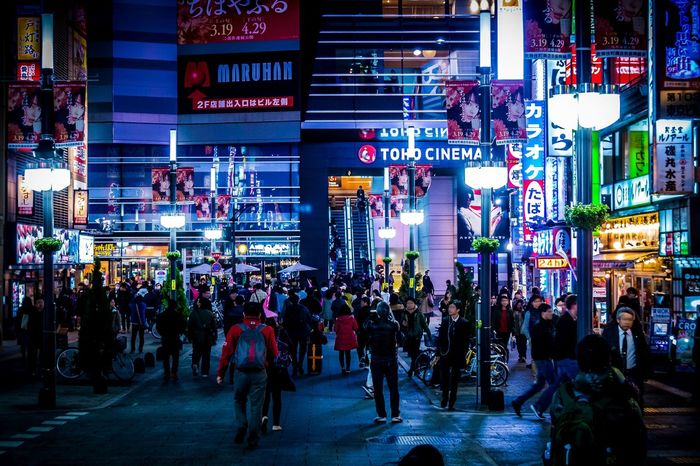 Atmospheric Mood Capture The Moment Cities At Night Cityscapes Cyberpunk Darkness And Light Drastic Edit Enjoying Life Everybodystreet From My Point Of View Getting Inspired Japan Light And Shadow Night Nightphotography People Shinjuku Silhouette Street Photography The Street Photographer - 2016 EyeEm Awards Turn Your Lights Down Low Walking Around Urban Exploration Feel The Journey Fine Art HUAWEI Photo Award: After Dark