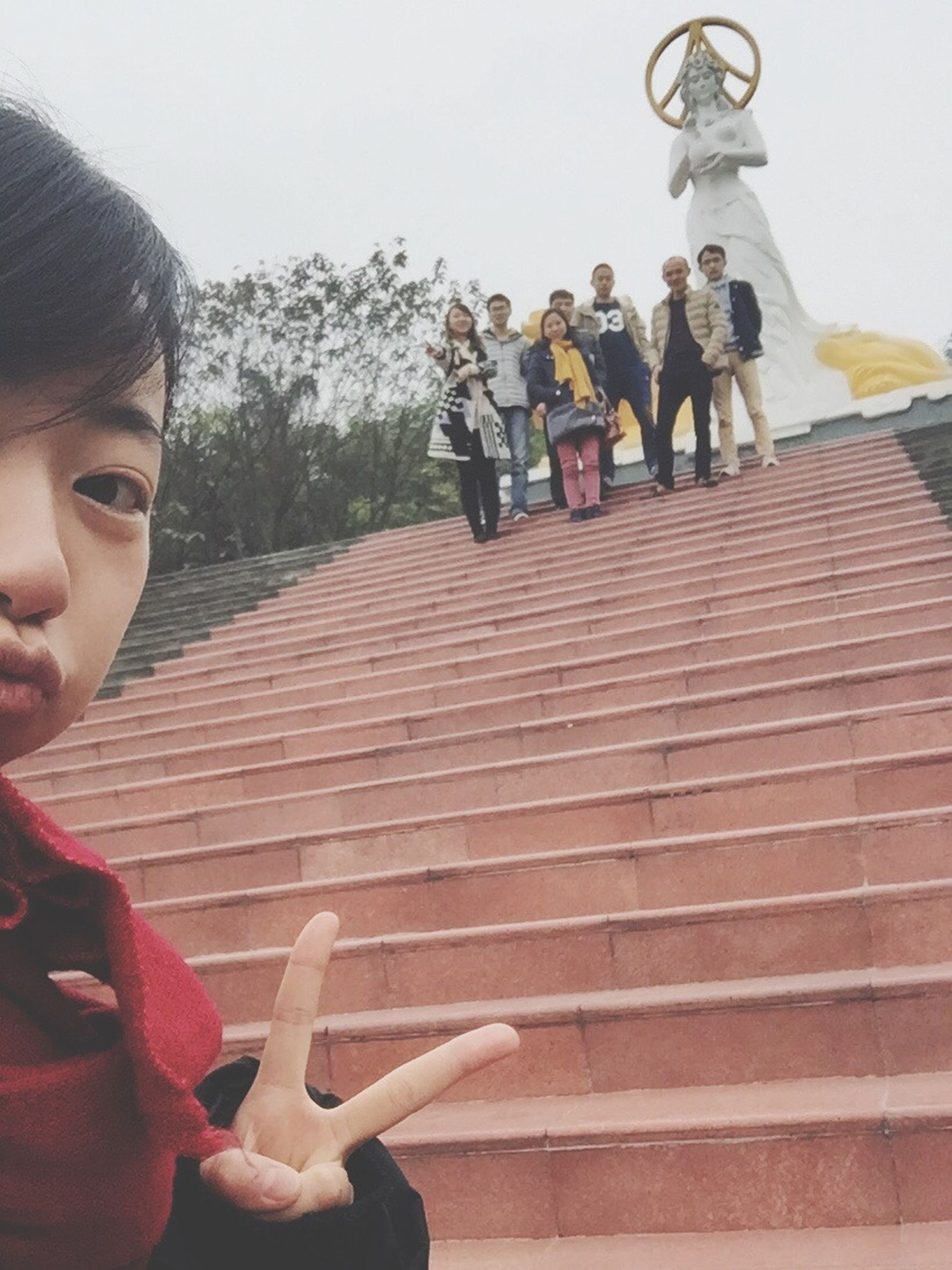 lifestyles, leisure activity, casual clothing, togetherness, person, steps, men, railing, standing, bonding, holding, love, boys, childhood, steps and staircases, day, friendship