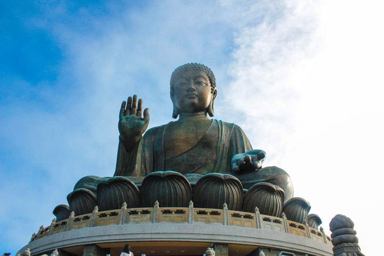 Buddha Art ArtWork Bigbuddha Buddha Buddha Image Buddha Statue Buddha Stupa Buddha Temple Buddha's Birthday China HongKong Sky Skyporn Statue Statues