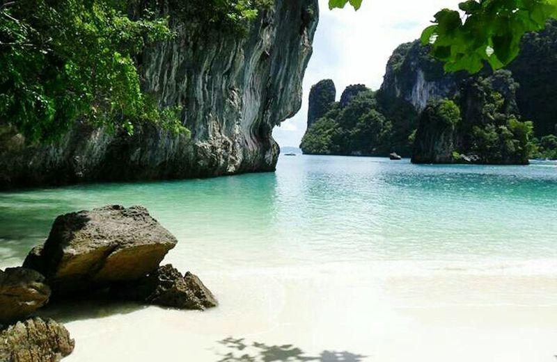 Serenity Peaceful Natural Create NaughtyBaywatch😊 @ Koh Hong Krabi Thailand