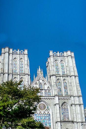 Seoul Seoul_korea Arhitecture University Kyung Hee University Bilding Gothic