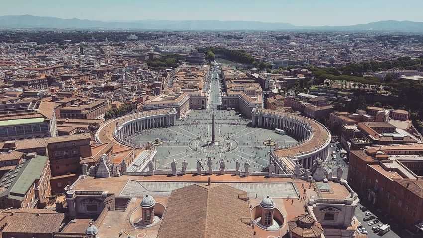 EyeEm Selects Pattern Day Outdoors No People Travel Destinations Architecture City Sky Politics And Government Architecture Italy Building Travel Photography Wanderlust Epic Beautiful History Vatican Basilica Pope Peterskirche Basilica Di San Pietro In Vaticano Vaticancity Photos Vaticanpanoramic