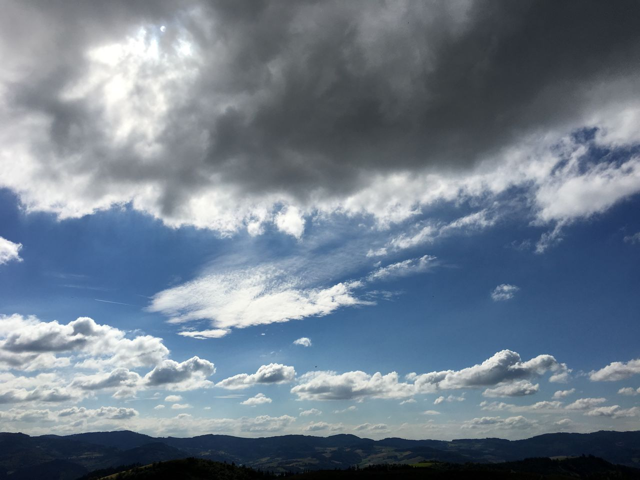 sky, beauty in nature, nature, cloud - sky, scenics, low angle view, day, tranquility, no people, outdoors, tranquil scene