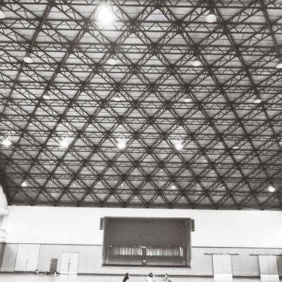 A wonderful framework Gymnasium A Wonderful Framework 体育館 骨組み