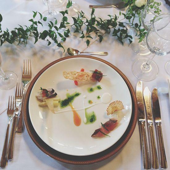 美味しい お料理 結婚式 しあわせ な気持ち💕