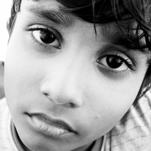 Kid Mikko Innocent Face eye family blackandwhite Maldivian