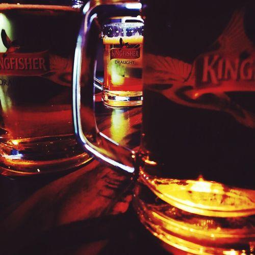 Beer Beer Time Kingfisher Kingofgoodtimes Focus EyeEmNewHere