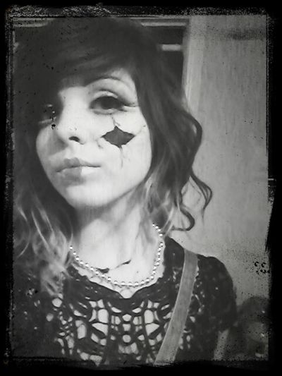 I was a porcelain doll for halloween :P Doll Halloween Porcelain Face