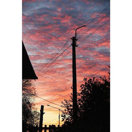Vscocam Nofilter Sunset Belgorod белгород Vscorussia Vscogrid Vscogood Vscophile Natural Sky Autumn Vscobest Sun Sky Clouds