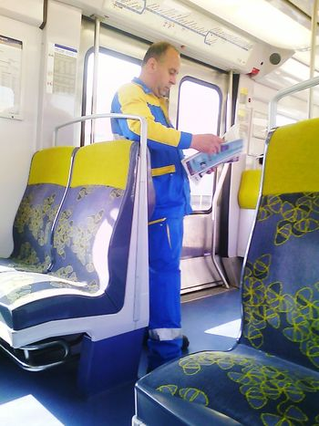 Reading Public Transportation Enjoying Life The Traveler - 2015 EyeEm Awards Train RerB