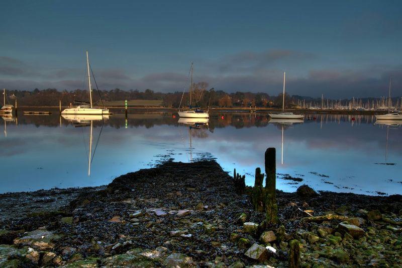 Sailboats On Lake