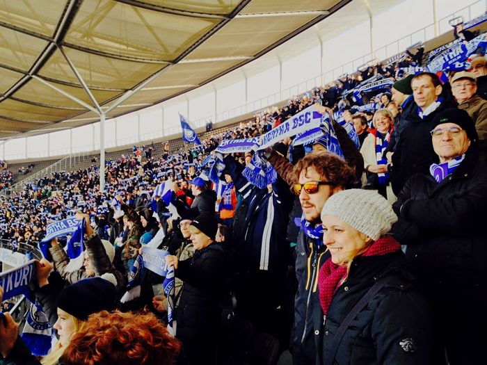 The Places I've Been Today Fans Watching Football Hahohe Hertha BSC My Berlin