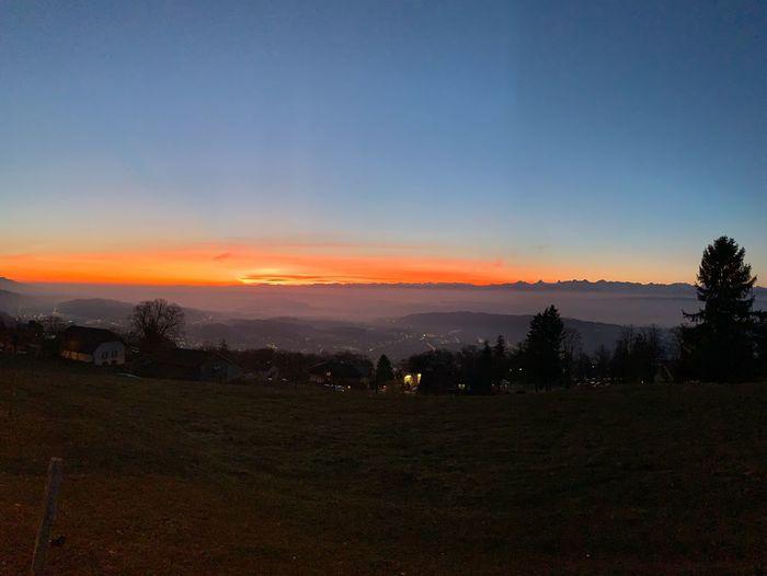 Morning sun Sky