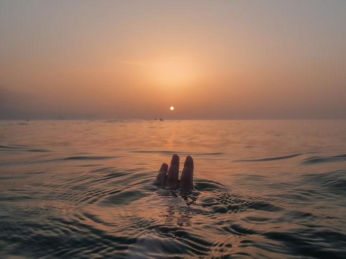 Summer sunset vibes