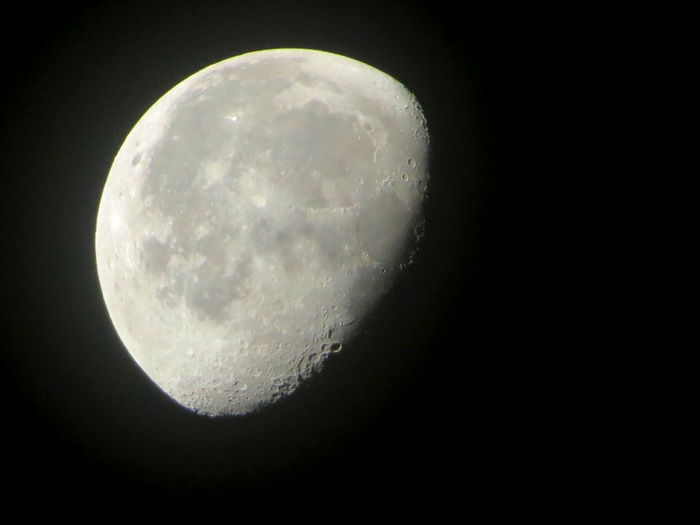 Moon Faces Chihuahua, Mexico Leo Sáenz Astronomy Beauty In Nature Clear Sky Close-up Half Moon Moon Moon Surface Nature Night No People Planetary Moon Scenics Sky Space The Week On EyeEm