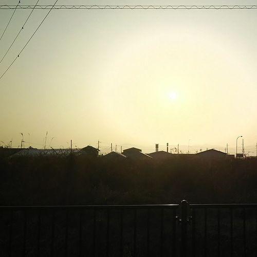 sora 3/20 イマソラ 空 夕方  夕日 Sky