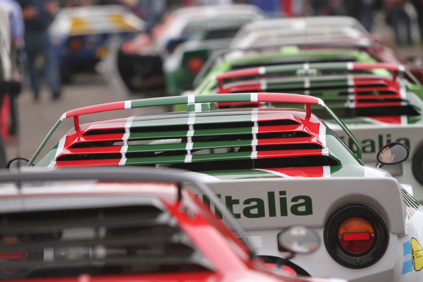 Iconic Lancia Stratos's line up at Rallyday 2014 Motorsport Rallygallery Rally Historic Lancia Stratos Rallyday