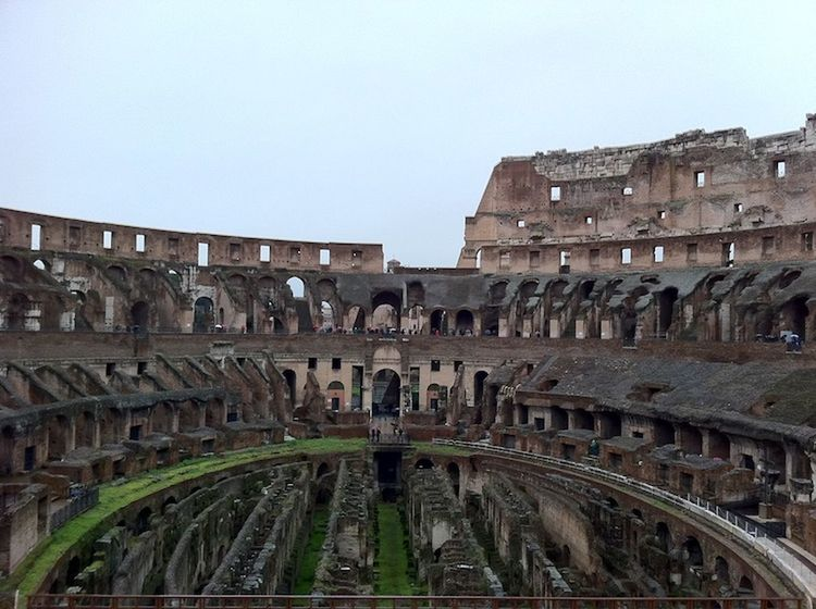 Rome Rom Colloseum Antique Kolosseum