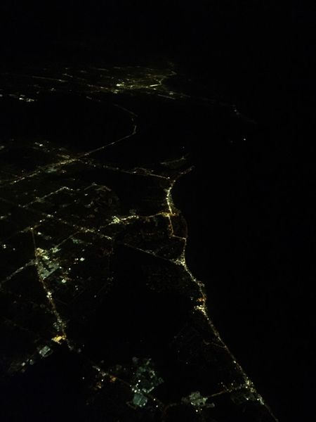 Midnight; A Bird's Eye View