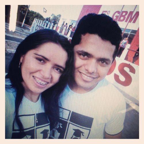 Na MarchaPraJesus2013 de Caxiasma com AdeliaBarros
