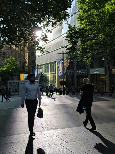 """""""Crossing paths with you"""" Street Photography People Watching Going Home City Full Length Tree Walking Sky Architecture City Street Pedestrian"""