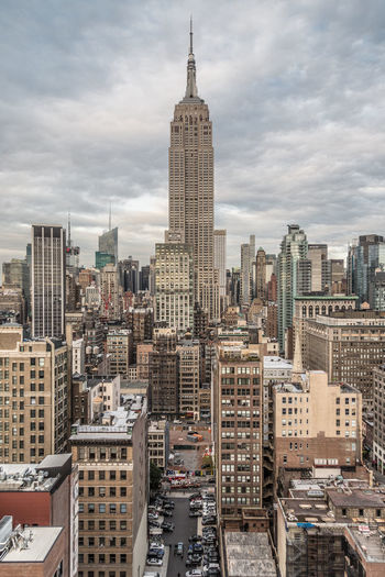 Architecture Building Exterior Built Structure City Cityscape Cloud - Sky Day Empirestatebuilding Modern No People Outdoors Sky Skyscraper Tall Tower Travel Destinations Urban Skyline