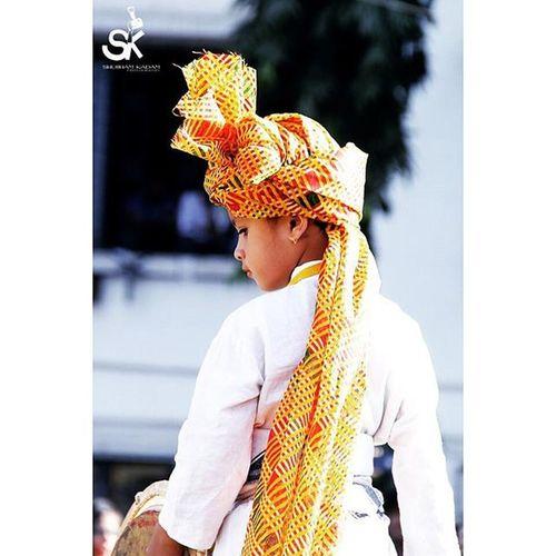 Traditional Littlegirl Pheta Dholpatak Insta_maharashtra Click_india_click Photographers_of_india Loaded_lenses !!!!