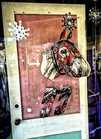 Art Shop Horse Door Florida Art ArtWork Store Sanford Iphone6plus IPhoneography