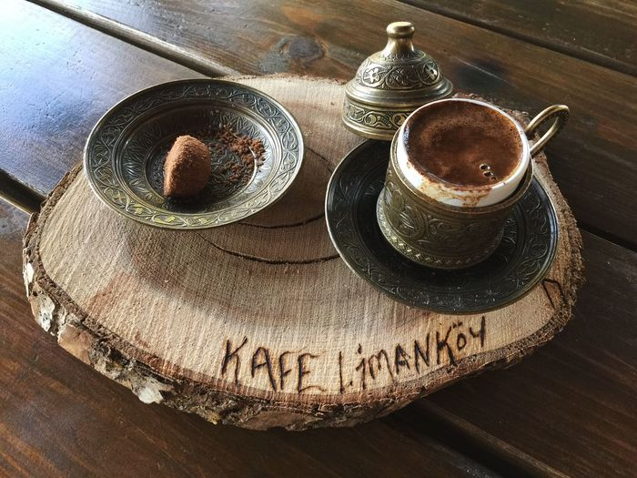 My Favorite Place Turkish Coffee at Cafe Limakoy Culture Antiquities Memories