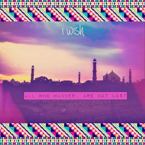 Ni too apni life ki too lag gai hae baeta g...Roadtrip Old RendomThaught Life Wanderer Lahore Badshahi Masjid Earlymorning