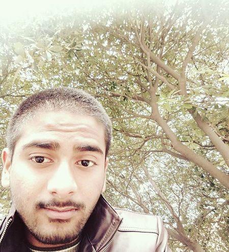 Finally getting over the hair issue.. Morning Preexam Selfie Amity Mi4 Irfan Delhi