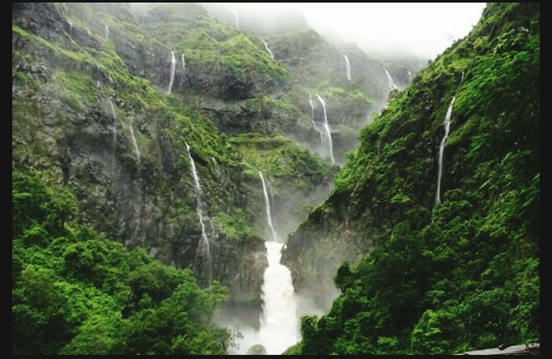 indias beauty.... Waterfall Power In Nature Beauty In Nature