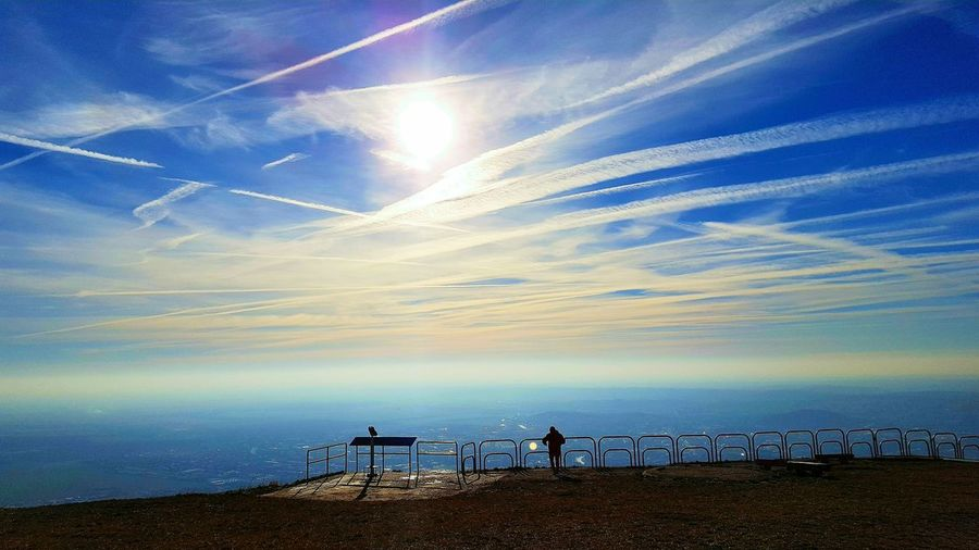 Sky Sunset Cloud - Sky Outdoors Nature Hiking Cardio Excercise Nitra Slovakia Wintertime Observation Point Zobor Calm Meditation