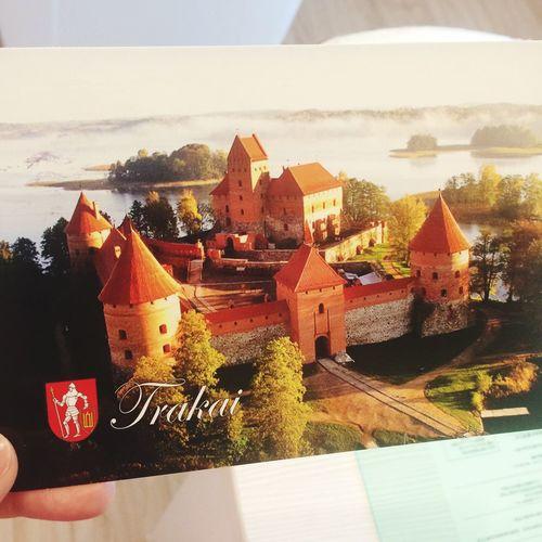 Received Postcard Lovely Thankyou