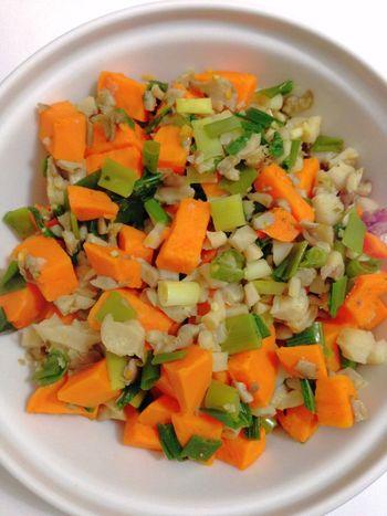 Sweet Potatoes Oyster Mushrooms Green Onion 365 Photos In 2015 Healthy Food Vegetarian Food Vegan Food Vegetables Dinner