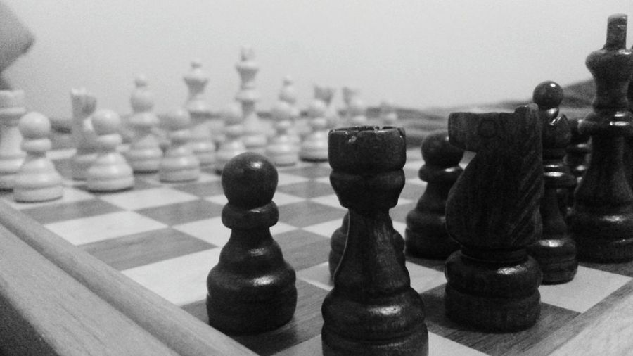 One bad move can ruin everything. Chess Chessboard Eyeem Black And White Blackandwhite Photography Black And White Collection  Blackpawn Blackpawn