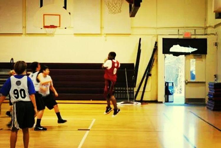 Everyday Lives Son Sports Urban Rebound Basketball