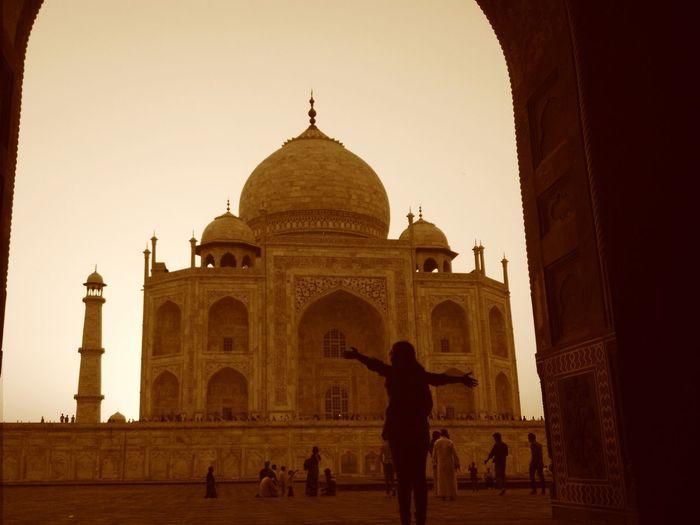 Tajmahal MughalStyle Wonderoftheworld Eye Em A Traveller