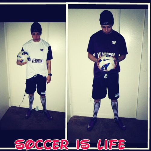 soccer is my life !